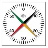 Chronomètre piscine 4 aiguilles mural 100x100cm