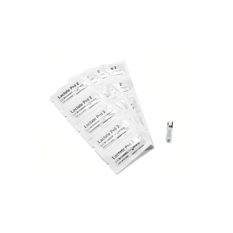 25 bandelettes de tests pour Lactate Pro2