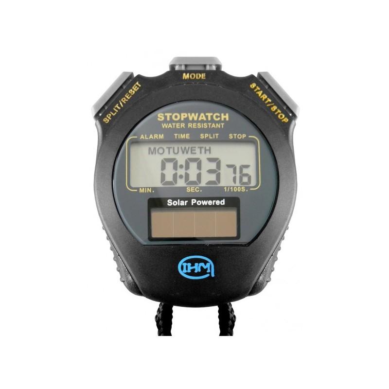 Chronomètre 2 temps - Énergie solaire