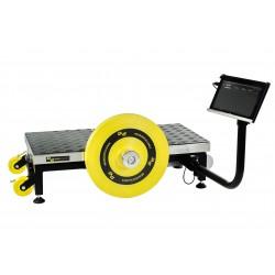 Acceleration squat Machine iso inertielle excentique