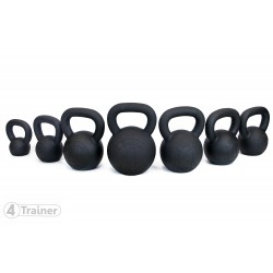 Kettlebell BLACK IRON FULL SET 4Trainer
