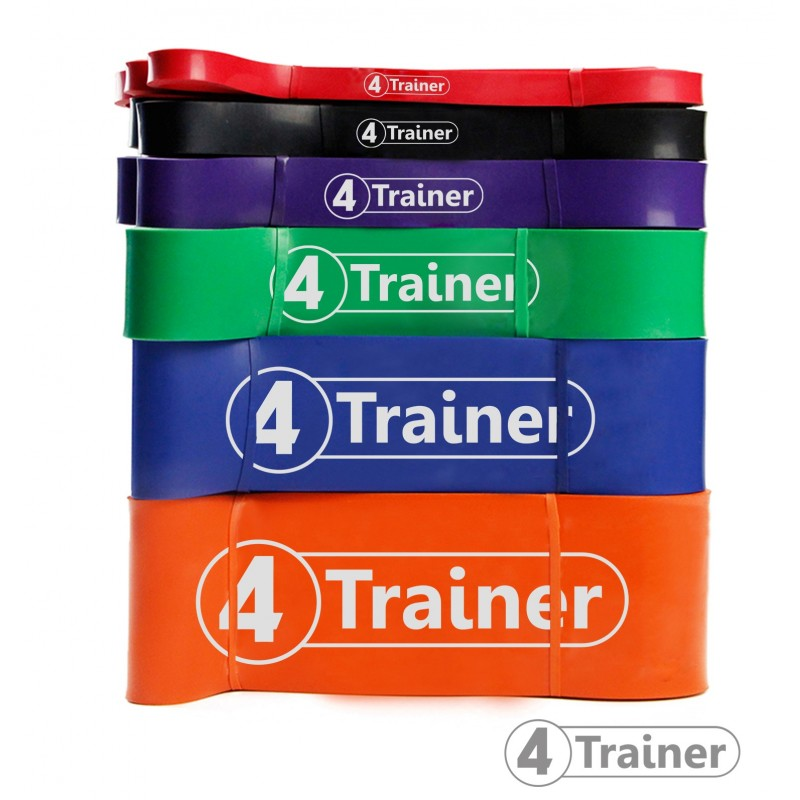 PACK Bandes élastiques Powerband 4Trainer