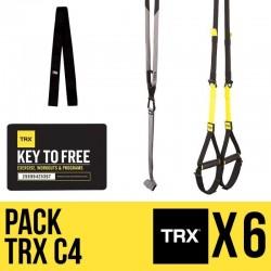 Kit 6 Sangles de suspension TRX C4 - Offre spéciale