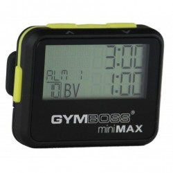 Interval Timer GYMBOSS Mini Max Noir / Jaune