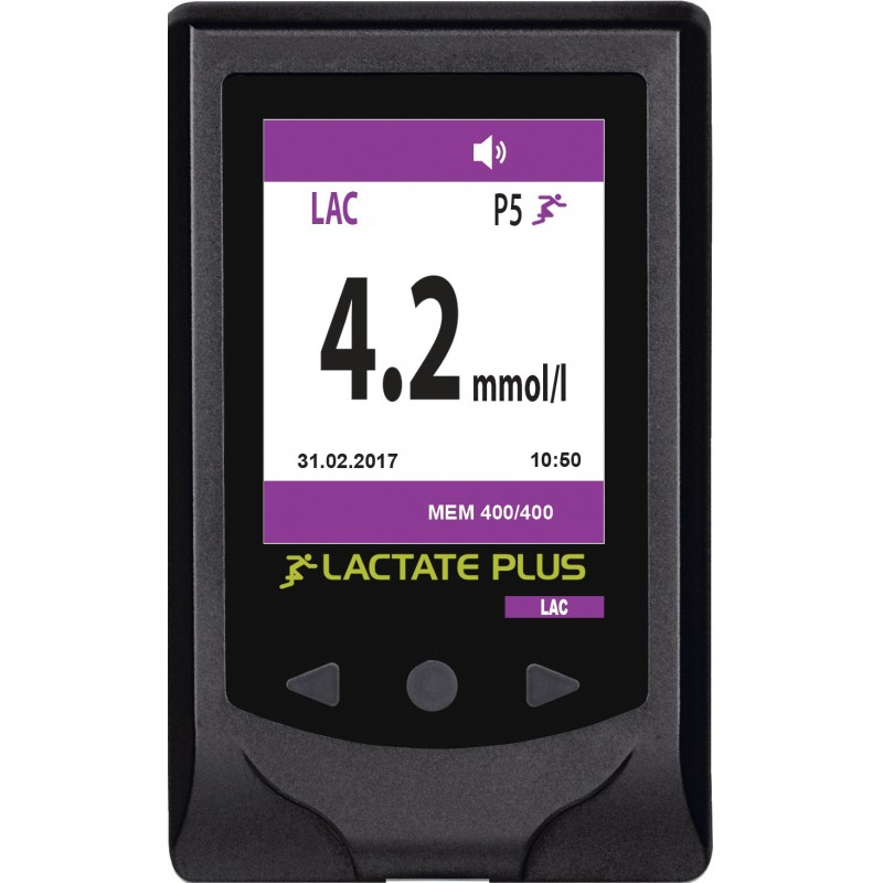 Lactate Plus, analyseur de lactate portable