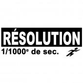 Chronomètre  au 1/1000e - 30 mémoires - Extinction Auto !