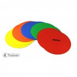 Disques d'agilité multicolores