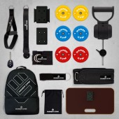 Handy Gym FULL PACK - Poulie iso-inertielle portable