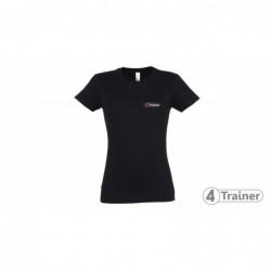 T-shirt Noir Femme 4Trainer