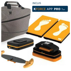 KFORCE ESSENTIAL PACK - Muscle Controller + Plates + Sens + Twin Handle + Sac + App Pro