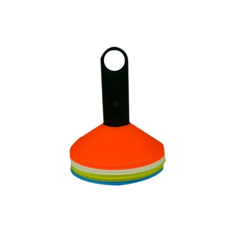Lot de 20 Repères Souples Multicolores - Sportifrance