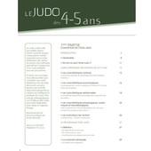 Le Judo des 4-5 ans - 4TRAINER Editions