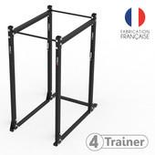 Cage à Squat Pro - 4TRAINER