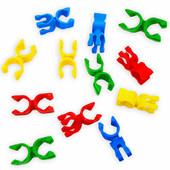 Lot de 12 Pinces Rotatives Multi-Usages