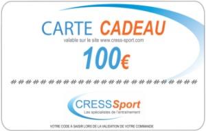 [MODELE] CARTE CADEAU 100€