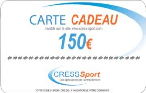 [MODELE] CARTE CADEAU 150€