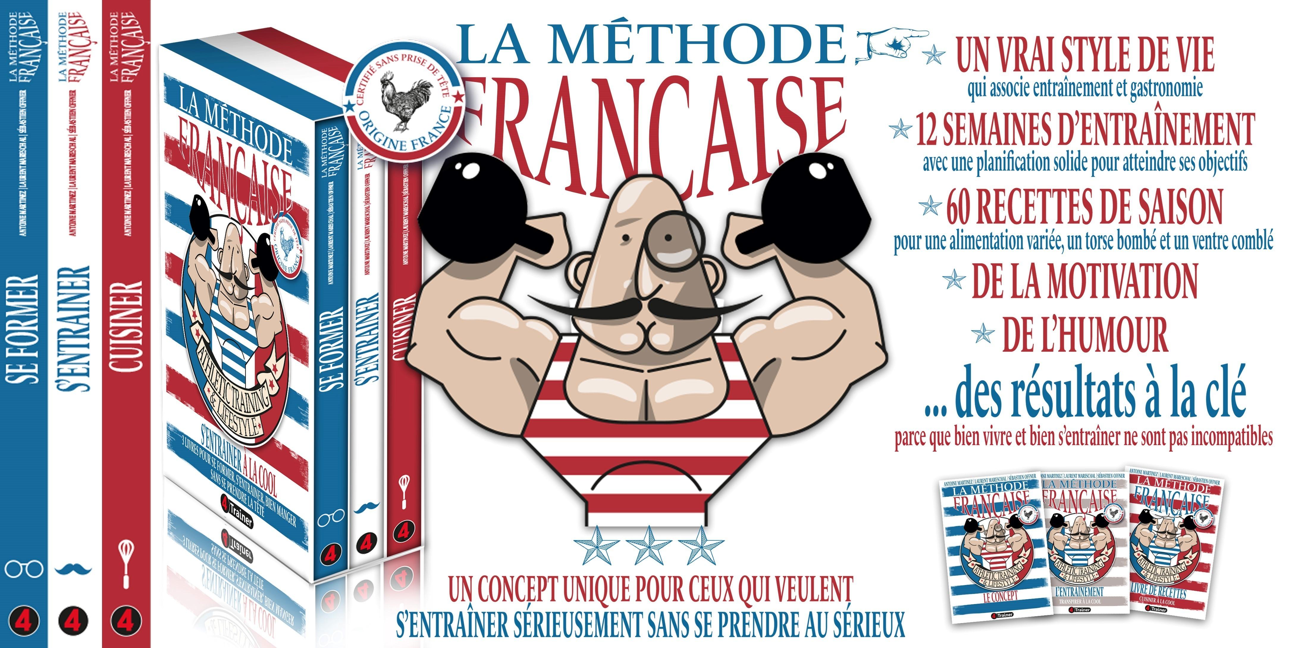 La Méthode Française - 3 Tomes / Edition Collector Opinel